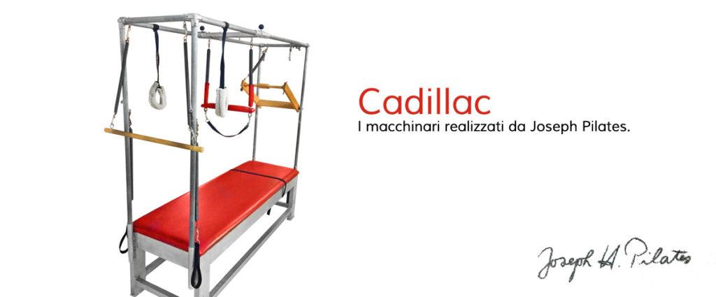 Cadillac, uno dei macchinari creati da J. Pilates