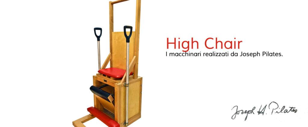 La High Chair, uno dei macchinari disegnati da Joseph Pilates