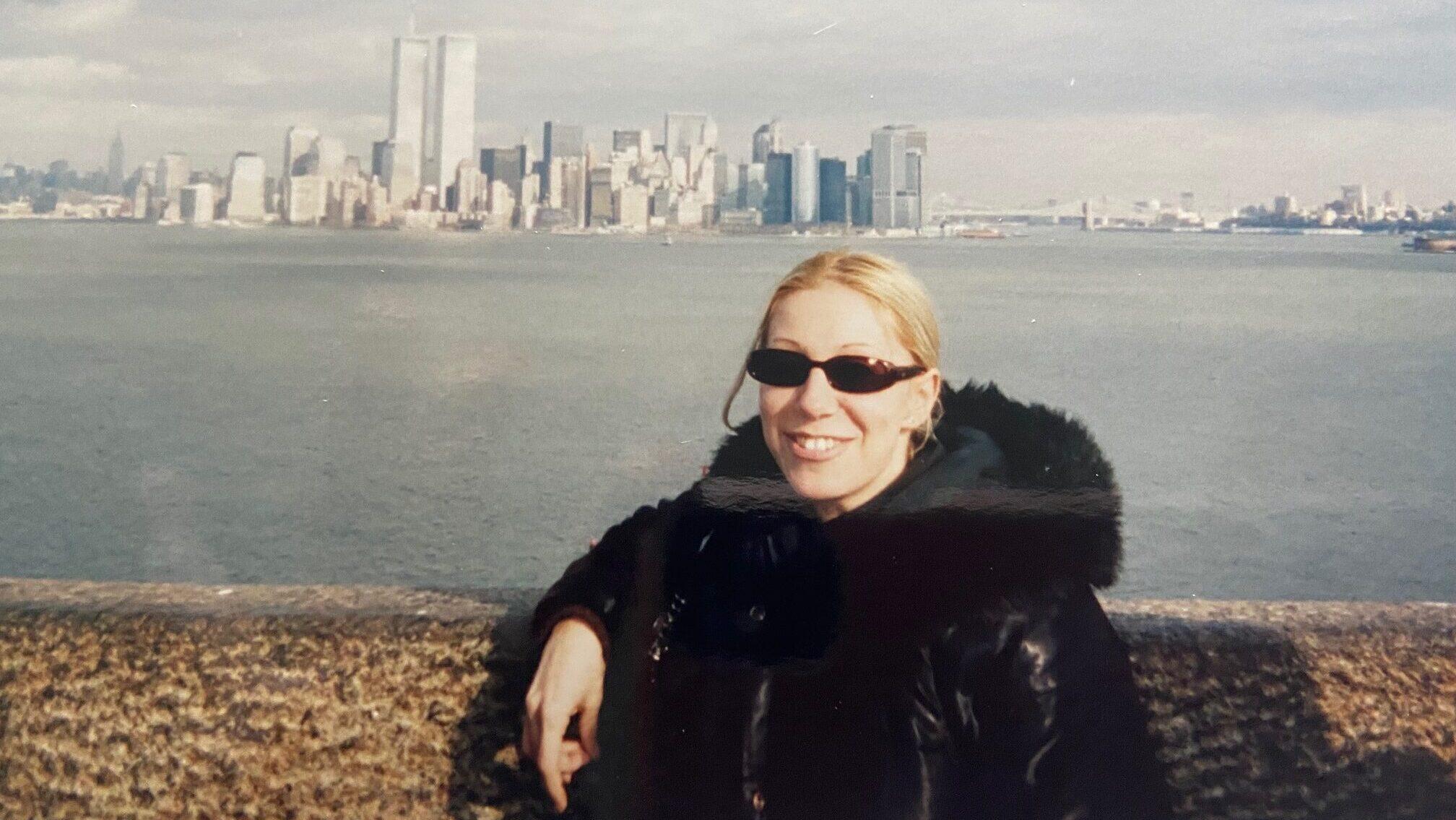 Valentina nel 1999 a New York per studiare Pilates